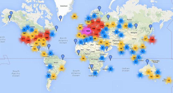Mapping How Tor's Anonymity Network Spread Around the World