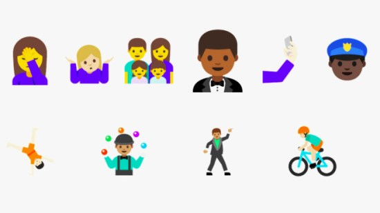 The Great iOS-Android Emoji Divide Narrows Ever So Slightly ?