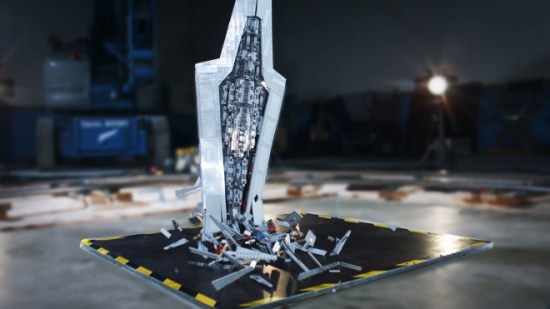 How We Epically Obliterated an $  800 Lego Star Destroyer
