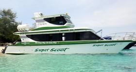 Fast Boat Gili Trawangan Lombok Super Scoot Vessel