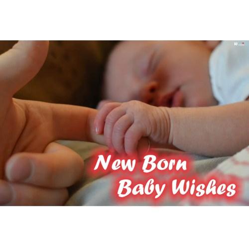 Medium Crop Of New Baby Wishes