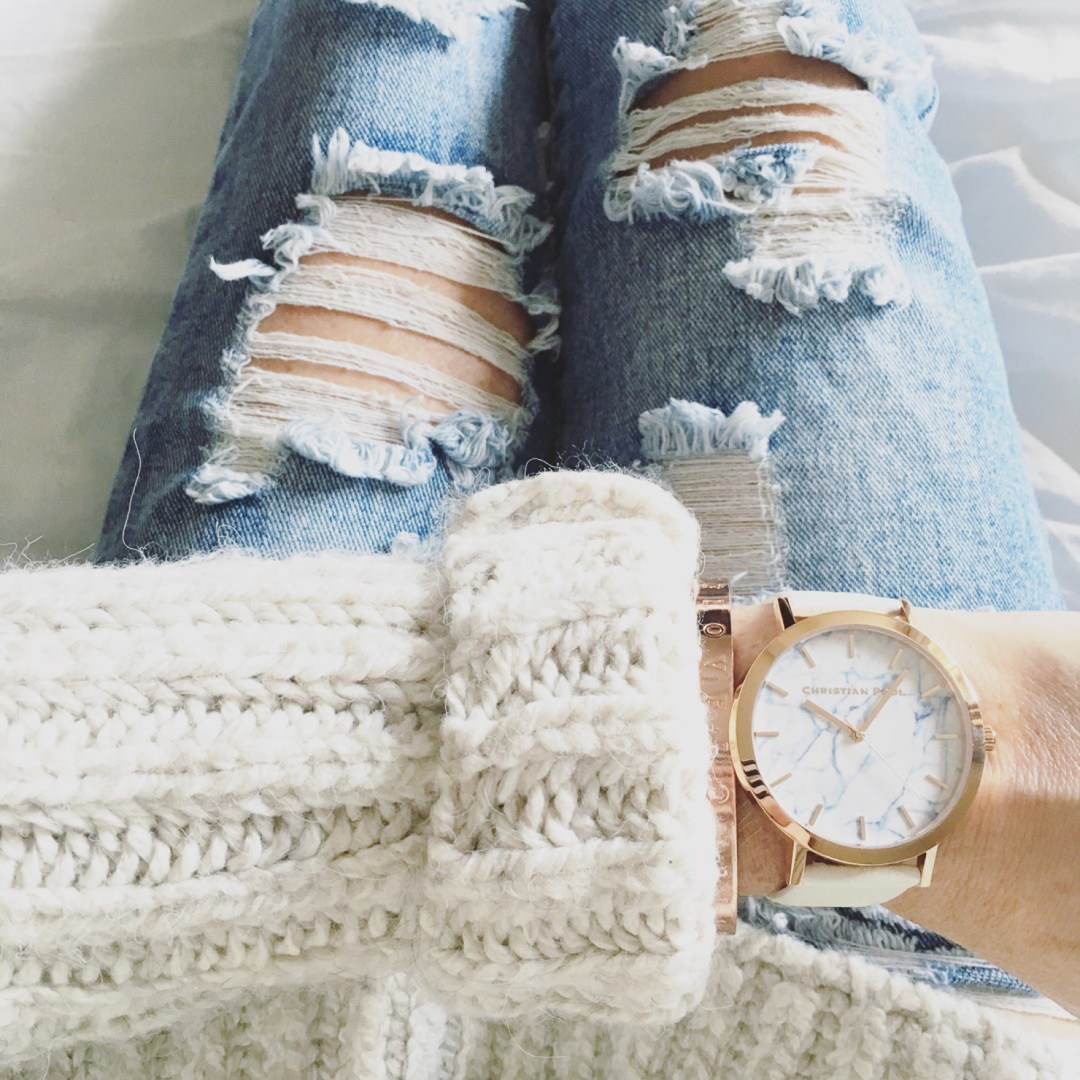 christian-paul-marble-watch-chunky-sweater-distressed-jeans--