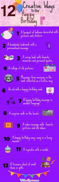 Small Of Ways To Say Happy Birthday