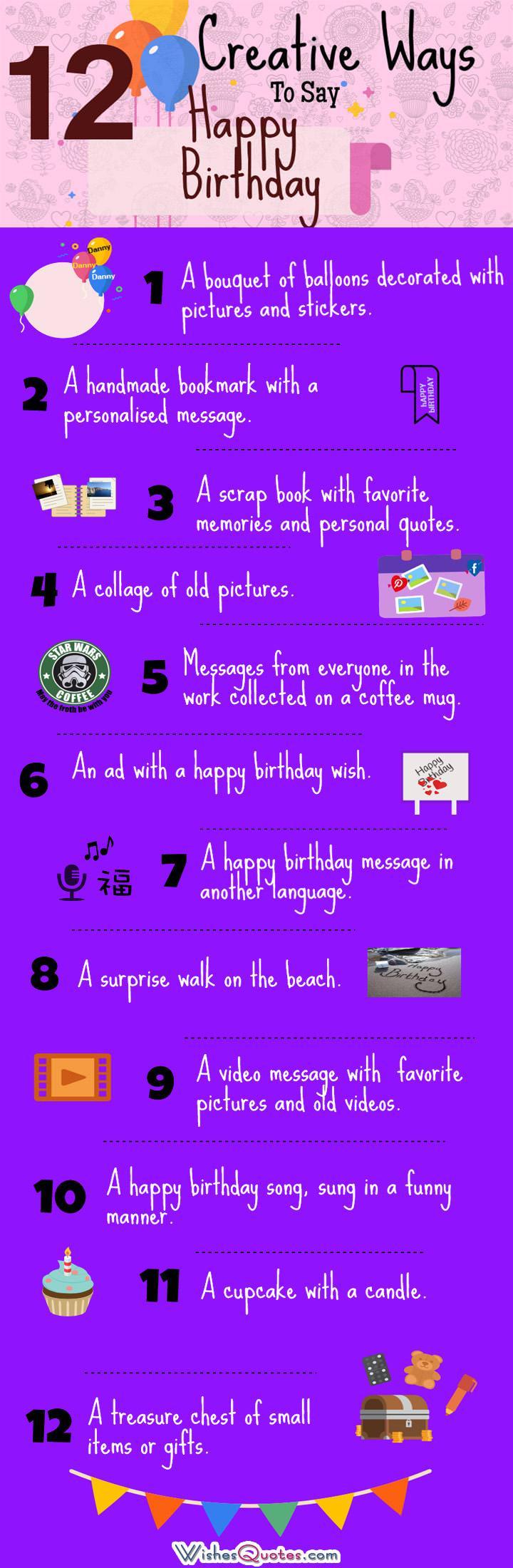 Large Of Ways To Say Happy Birthday
