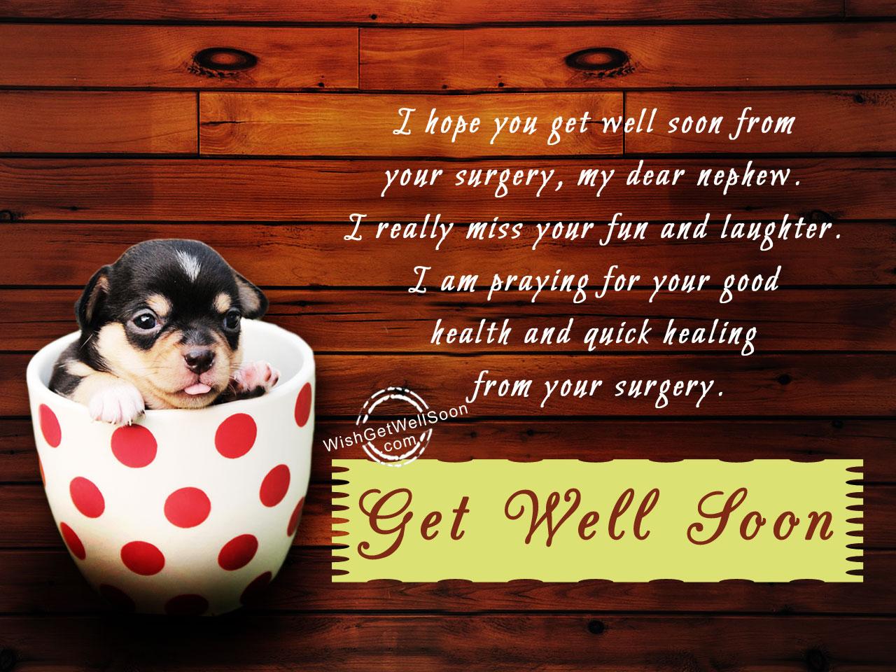 Fullsize Of Hope You Feel Better Soon