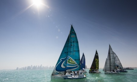Sailing with Dee Caffari in Oman