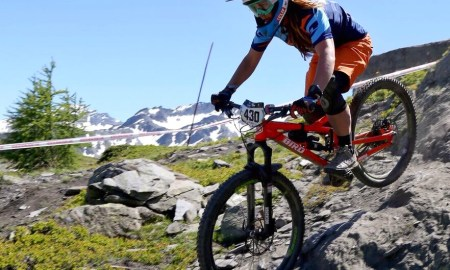 Traharn Chidley, mountain biking