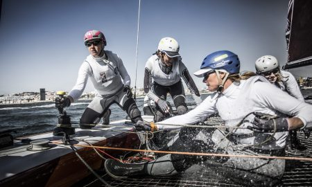 The Extreme Sailing Series 2016. Act 7. Lisbon. Portugal. 9th October 2016. Credit - Lloyd Images