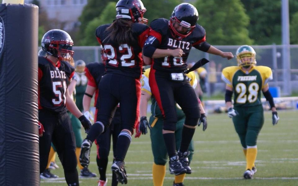 Saadia Ashraf - Canadian Football [Manon Migner]