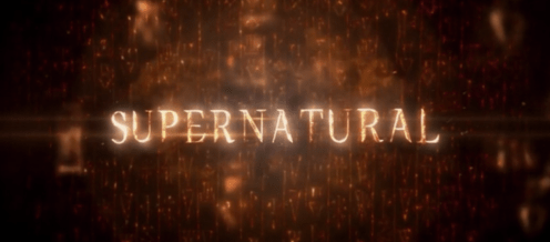 Supernatural title banner