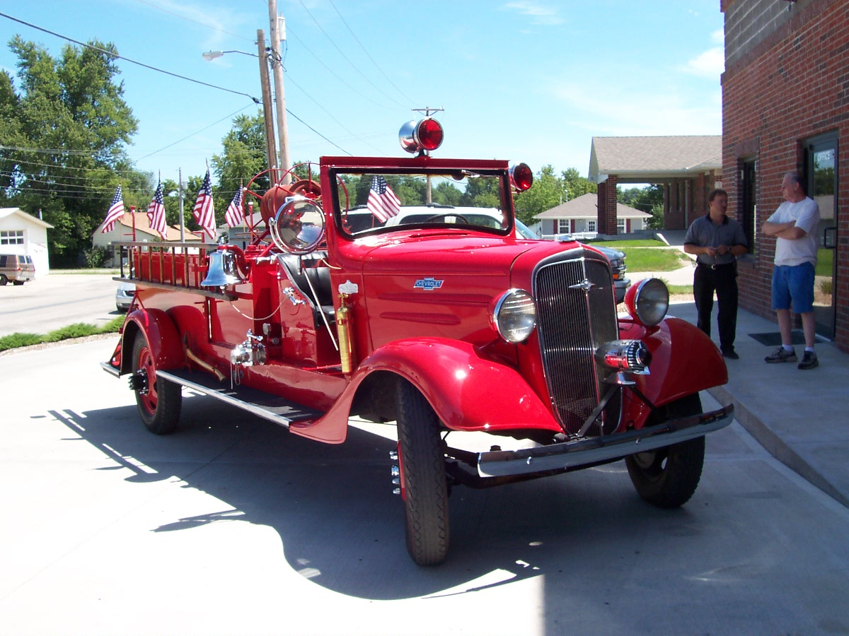 Restoration 1936 Chevrolet Firetruck 004