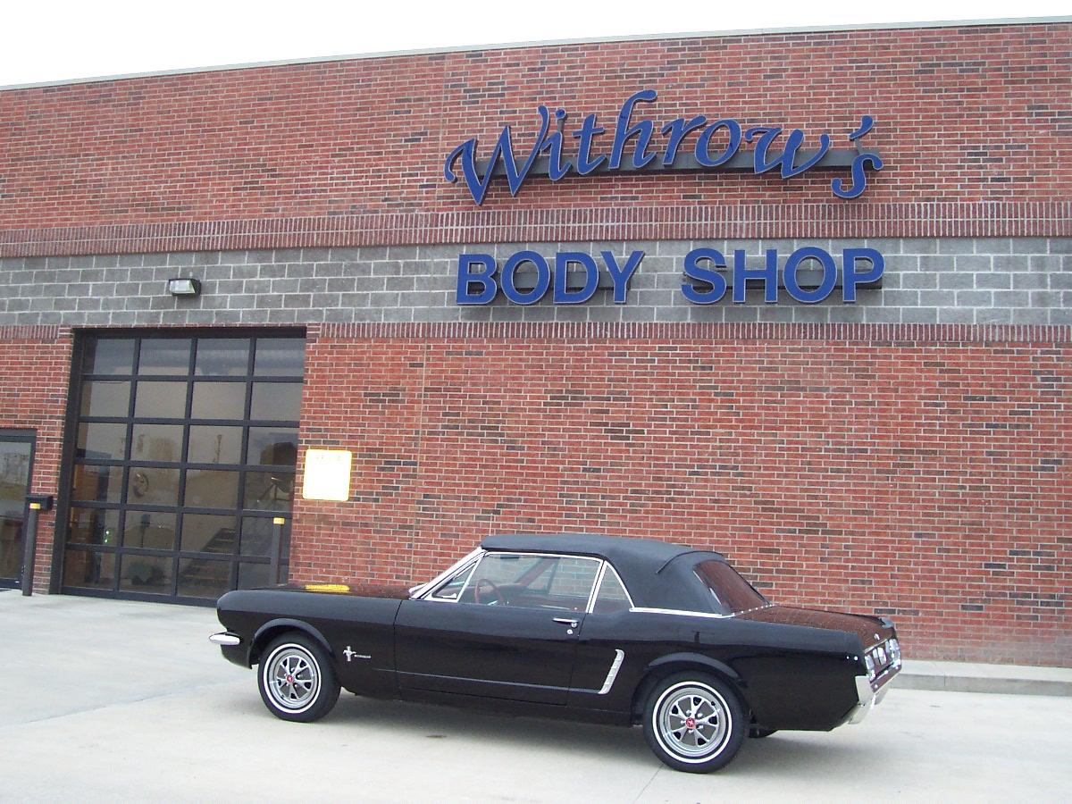 Restoration 1965 Mustang 3