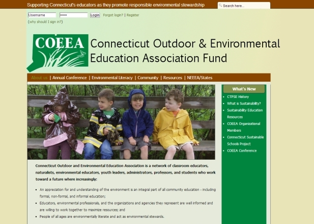 Connecticut Outdoor & Environmental Education Association Fund Site