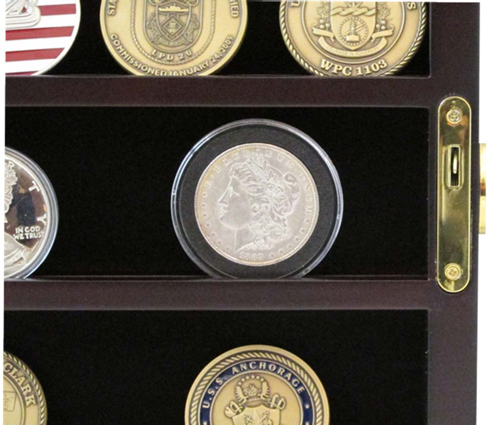 Fullsize Of Challenge Coin Display Case