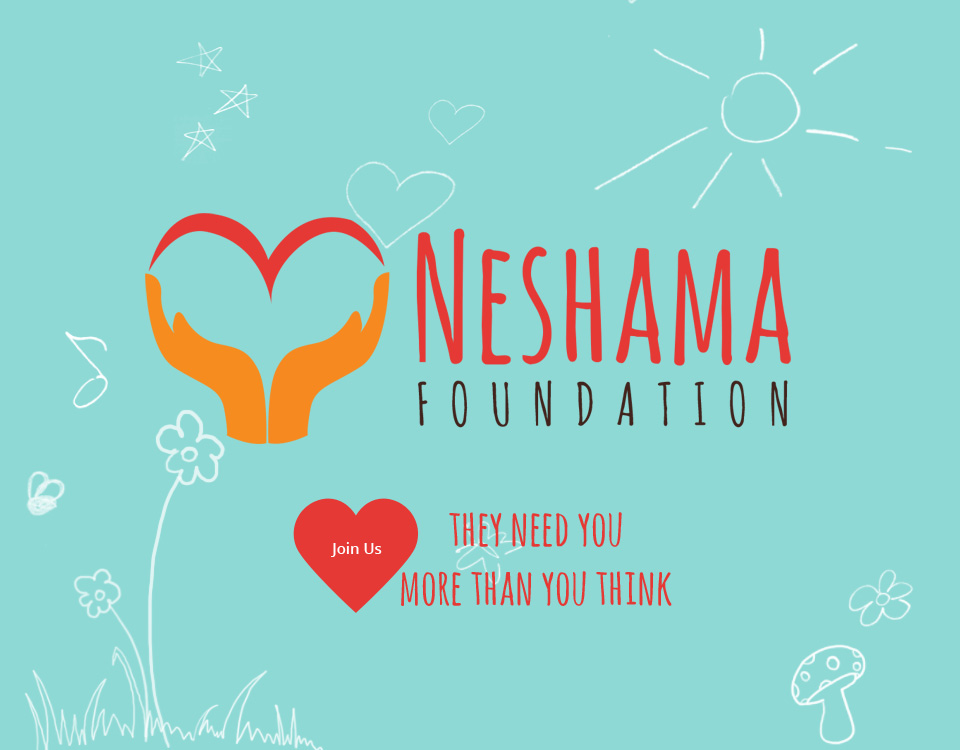 neshama-foundation brand design