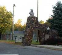 Entrance to the Winamac Town Park