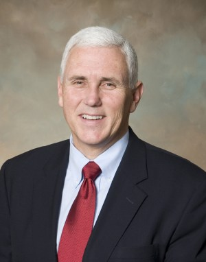 Indiana Governor Mike Pence
