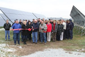 KVREMC Community Solar Ribbon Cutting