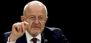 James Clapper, director of national intelligence, is in charge of 16 federal agencies.