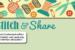 stitch and share