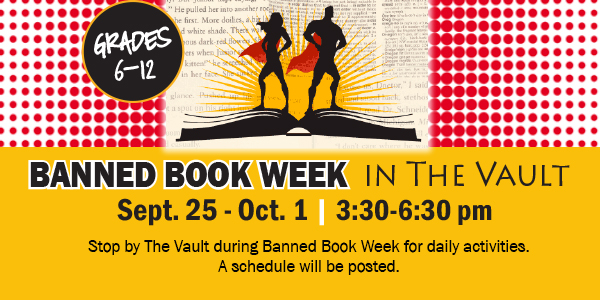 Banned Books Week in the Vault