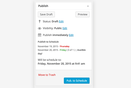 Schedule Your WordPress Posts To Be Published Automatically 4