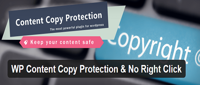 Top 7 WordPress Plugins to Protect Your Content WP Content Copy Protection No Right Click