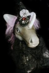 Lavendar Unicorn Doll