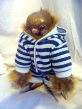 BABY SLOTH IN JAMMIES