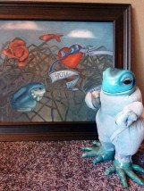 DEATH FROG FEATURED HEAVILY IN SOOTHSAYING PAINTINGS