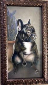 "IPHIGENIA | 2015 | oil on canvas, 16"" x 28"""