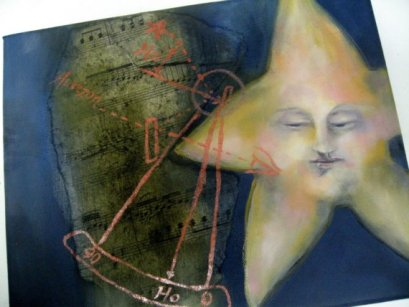 "HORIZON | 2009 | oil on canvas, 10"" x 8"""