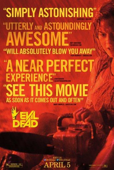 Plakat Evil Dead 2013