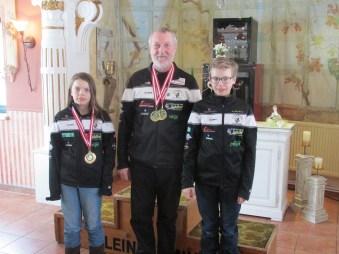 Große Erfolge für Juliane Knauß, Franz Schwarz und Jakob Knauß vom Schibobverein Haus/E.