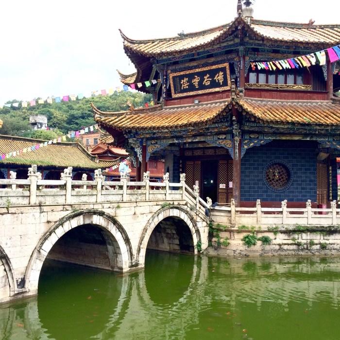 Größter buddhistischer Tempel in Yunnan