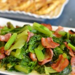 Bacon with Chinese Vegetables