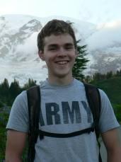 Wolf Camp Instructor in Training Ben Kleiber on Mt Rainier 2013