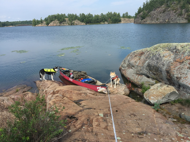 canoe load