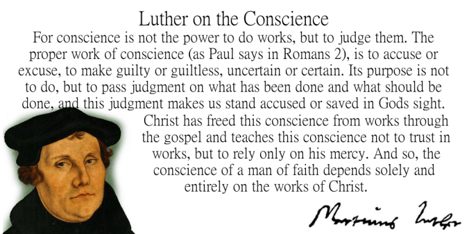 Lutherconscience