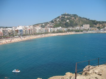 beach of Blanes