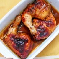 Five Ingredient Lemon Bbq Roasted Chicken