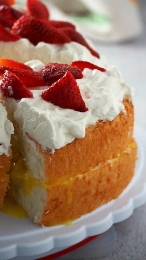 Medium Of Angel Food Cake Toppings