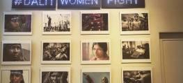 dalit women fight exhibition