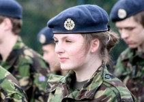 UK Female Soldier