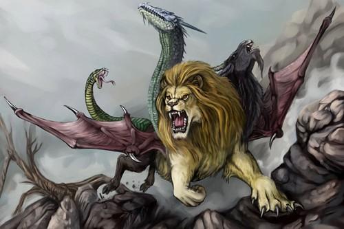 10传说中的希腊神话中的生物
