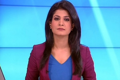anjana-Top 10 Indian Gorgeous Women News Anchors-top10s.biz