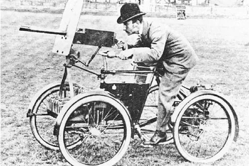 Armored Quadricycle
