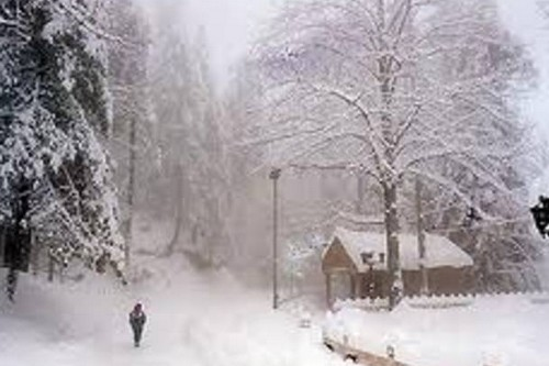 Snowfall in skardu