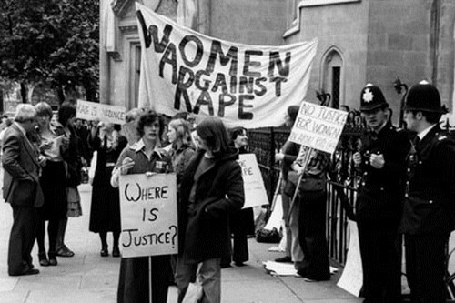 Women Against Rape demonstration