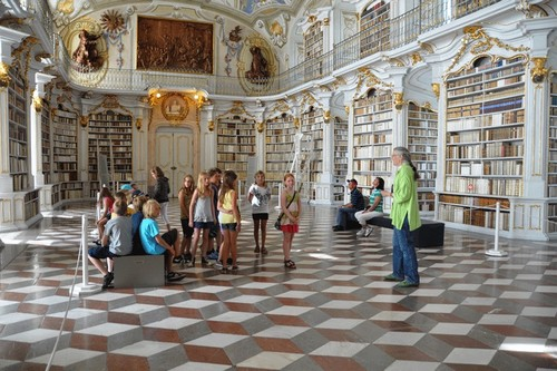 Admont Austria  city pictures gallery : Admont Abbey Library | Austria